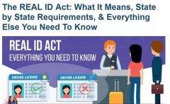 <font color='red'>美国</font>真实身份证明年10月1日全美生效,无法提供将影响登机!