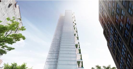 侨外纽约第五大道金融中心项目进展顺利