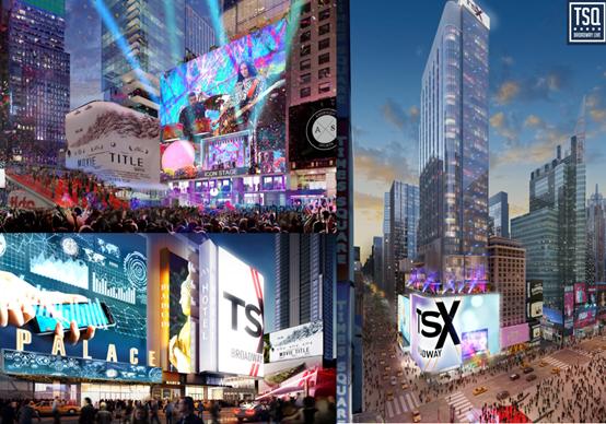 历史项目追踪:侨外纽约时代广场百老汇项目进展顺利