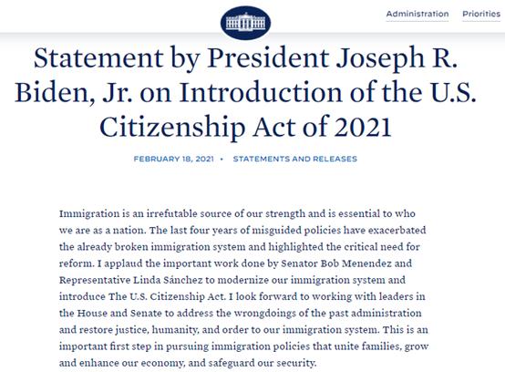 """侨外<font color='red'><font color='red'>美国</font><font color='red'>移民</font></font>特邀律师嘉宾详解拜登""""2021年<font color='red'>美国</font>公民法案"""""""